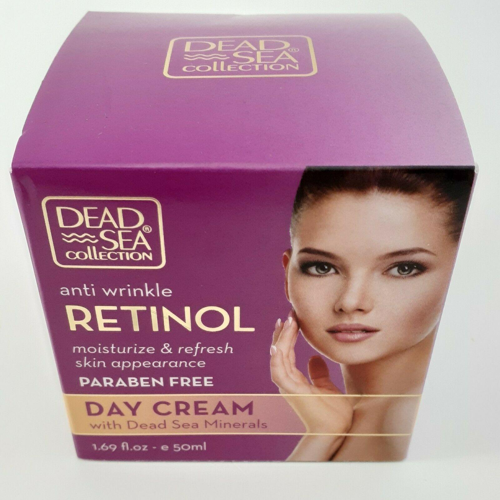 Dead Sea COLLECTION Retinol Anti Wrinkle Day Cream 1.69 oz