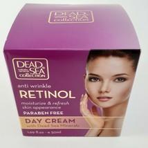 Dead Sea COLLECTION Retinol Anti Wrinkle Day Cream 1.69 oz image 1