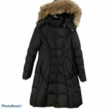 Andrew Marc  warm goose down quilted parka Real Fur women's Medium coat ... - $74.80