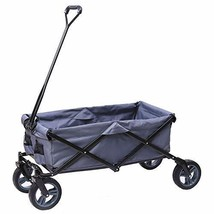 ARTPUCH Folding Wagon All-Terrain Collapsible Utility Wagon Garden Cart ... - $117.28