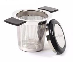 Tea Strainer Reusable Stainless Steel Infuser Filter Basket Teapot Silve... - £10.53 GBP