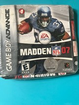 Madden 2007 Nintendo Game Boy Advance Brand New Factory Sealed GBA - $7.23