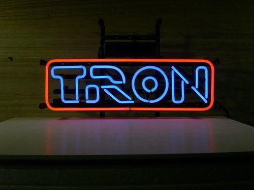 "New Tron Arcade Video Game Room Neon Sign 24""x12"" Ship From USA"