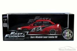 2015 1:18 Movie Fast & Furious Sean's Mitsubishi Lancer Evolution VIII D... - $112.19