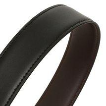 Tommy Hilfiger Men's Set Reversible Leather Belt Removable Buckle 11TL08X007 image 5
