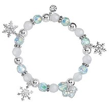 Winter Snowflake Stretch Bracelet - $24.50