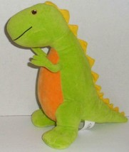 "Kohls Green Dinosaur World Of Salina Yoon Stormy Knight 10"" Plush Doll Toy Buddy - $3.99"