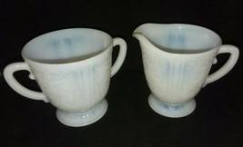 Macbeth Evans American Sweetheart Monax Sugar Bowl Cream Pair Depression... - $14.99