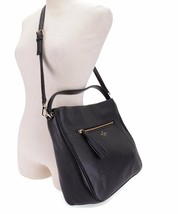KATE SPADE Michaela Chester Street Hobo Crossbody Handbag Black WKRU4224 - $90.00