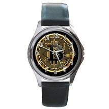 Round Metal Unisex Watch Highest Quality Bitcoin - $23.49