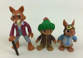 Peter Rabbit Mr Tod Benjamin Bunny Squirrel Nutkin 3pc Lot Toys R us Exc... - $12.82