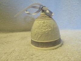 A Vintage Lladro 1993 Christmas Porcelain Bell - $4.95