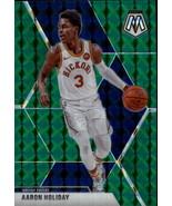 2019-20 Panini Mosaic Green #7 Aaron Holiday Pacers - $2.95