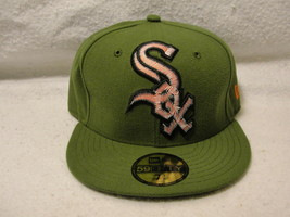 Chicago White Sox green cap/hat with red pop up embroidery size 7 3/8 Ne... - $18.00