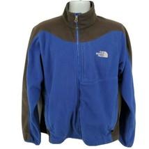 The North Face Fleece Jacket Mens Size L Blue Black - $54.40