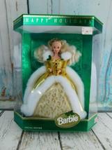 Vintage 1994 Happy Holidays Barbie Special Edition Mattel 12155 NRFB - $34.64