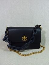 NWT Tory Burch Black Kira Double-Strap Mini Xbody Bag/Shoulder Bag $398 - $334.62