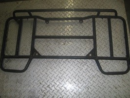 KAWASAKI 1994 BAYOU 300 4X4  REAR RACK (HAS RUST,DENTS AND NEEDS PAINT) ... - $50.00