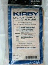 6 KIRBY VACUUM CLEANER BAGS G3 G4 G5 G6 ULTIMATE G G7 G7D MICRON MAGIC - $13.81
