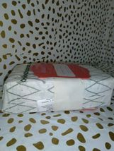 KING Cotton Percale Printed Pillowcase Set Sayulita White Green - Opalhouse   image 7