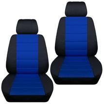 Front set car seat covers fits Jeep Wrangler JK 2007-2017   Fleur-de-lis design - $99.99