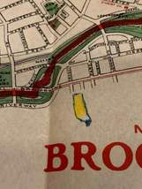 Walker & Co. Antique 1903 Lot Brookline Boston Road Map Cyclist Iver Johnson image 8