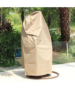 Outdoor UV Rain Cover 4 Wicker Swing Chair Wateroof Hanging Hammock Chai... - $79.18+
