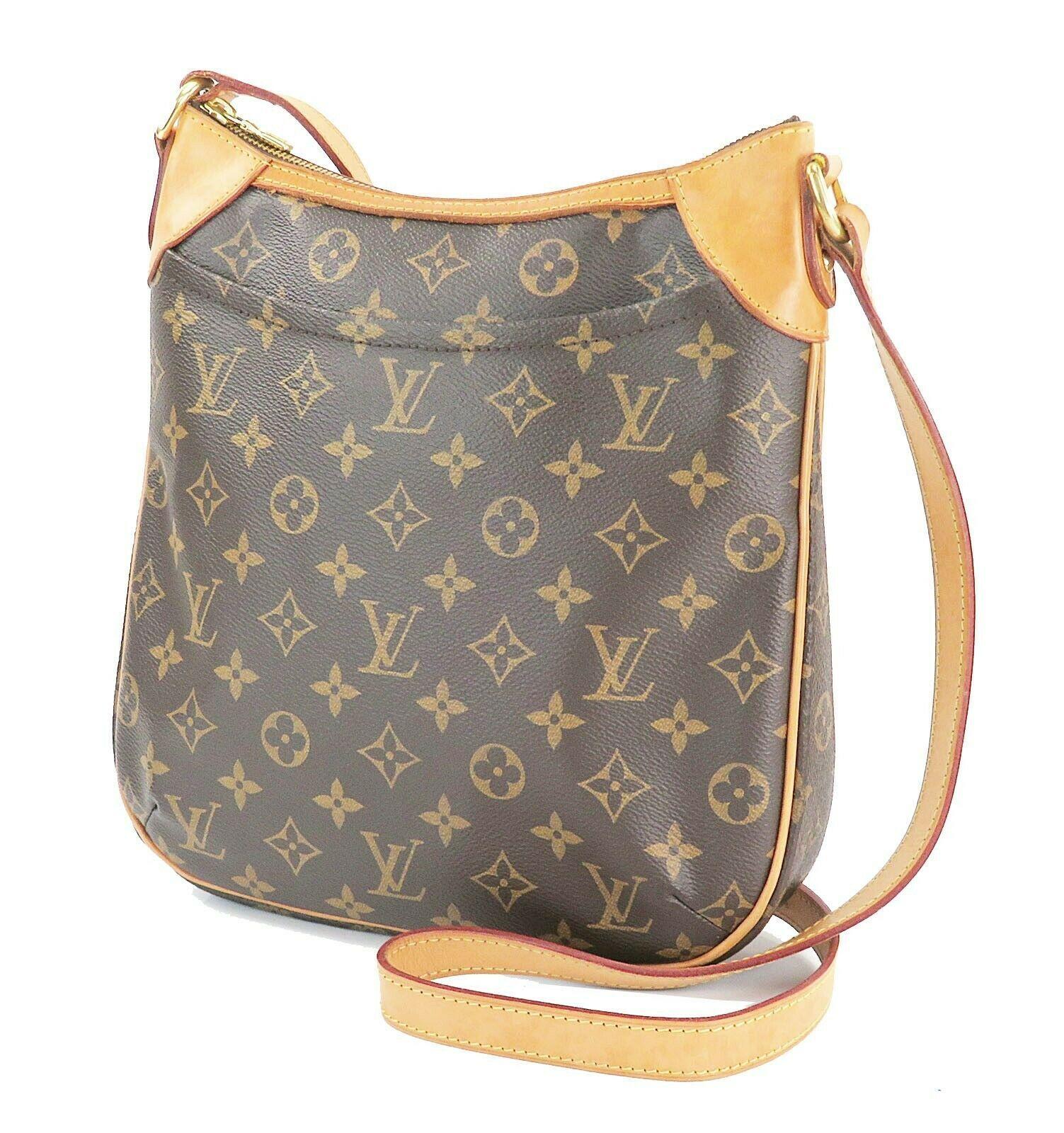 Authentic LOUIS VUITTON Odeon PM Monogram Shoulder Tote Bag Purse #32145