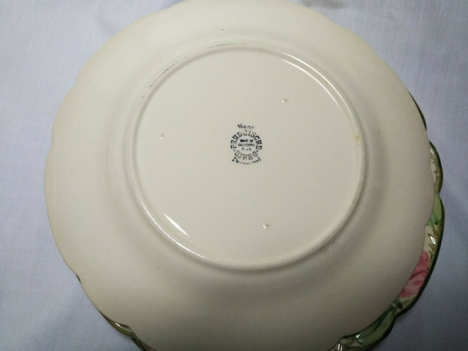 Vintage Franciscan China Desert Rose Single 10.5 inch Dinner Charger Plate