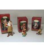 Lot of 3 1999 Hallmark Ornaments Arctic Artist, Mary's Bears, Toymakers ... - $30.64