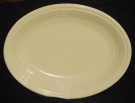 "Fiestaware 11 1/2"" Oval Platter Yellow - $18.99"