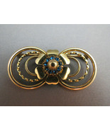 Sale VTG LSCO Gold Filled Flower Brooch Yellow ... - $19.99