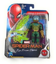 """Marvel Spider-Man Hasbro Far From Home MYSTERIO 6"""" Action Figure New 201... - $20.73"""