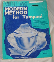 Modern method for tympani   goodman thumb200