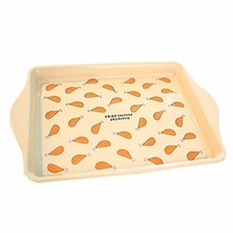 Yellow Square Iron Trays Decorative Kitchen/Bedroom-Use Trays [FRIED CHI... - $20.80