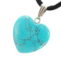 Steampunkers USA Big Heart Collection - 20mm Classic Turquoise Blue - 20... - $51.97