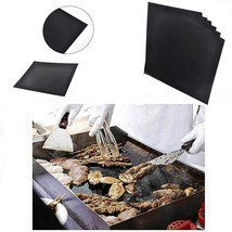 Reusable Easy Baking BBQ Grill Mat Nonstick Cooking Sheet Mats Cooking O... - $16.19