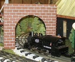 Model Railroad O Gauge THIN PROFILE Tunnel Portal - Set of 2 - $24.99