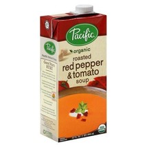 Pacific Organic Soup, Roasted Red Pepper & Tomato, 32 Oz. Pack of 6 - $59.57