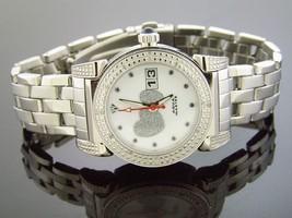 NEW LADY AQUA MASTER ROUND WITH 16 DIAMONDS WATCH - $191.99