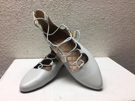 Ugg Lorianna Light Gray Grey Ballet Leather Flats Us 9.5 / Eu 40.5 / Uk 8 - Nib - $65.44