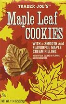Trader Joe's Maple Leaf Cookies, Net WT. 11.4oz323g