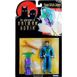 Adventures of Batman and Robin Pogo Stick Joker action figure