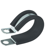 Gardner Bender 3/8 in. Rubber-Insulated Metal Clamps (2-Pack)  - $3.95