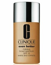 Clinique Even Better Broad Spectrum SPF15 Makeup Foundation Spice 31 - $21.49