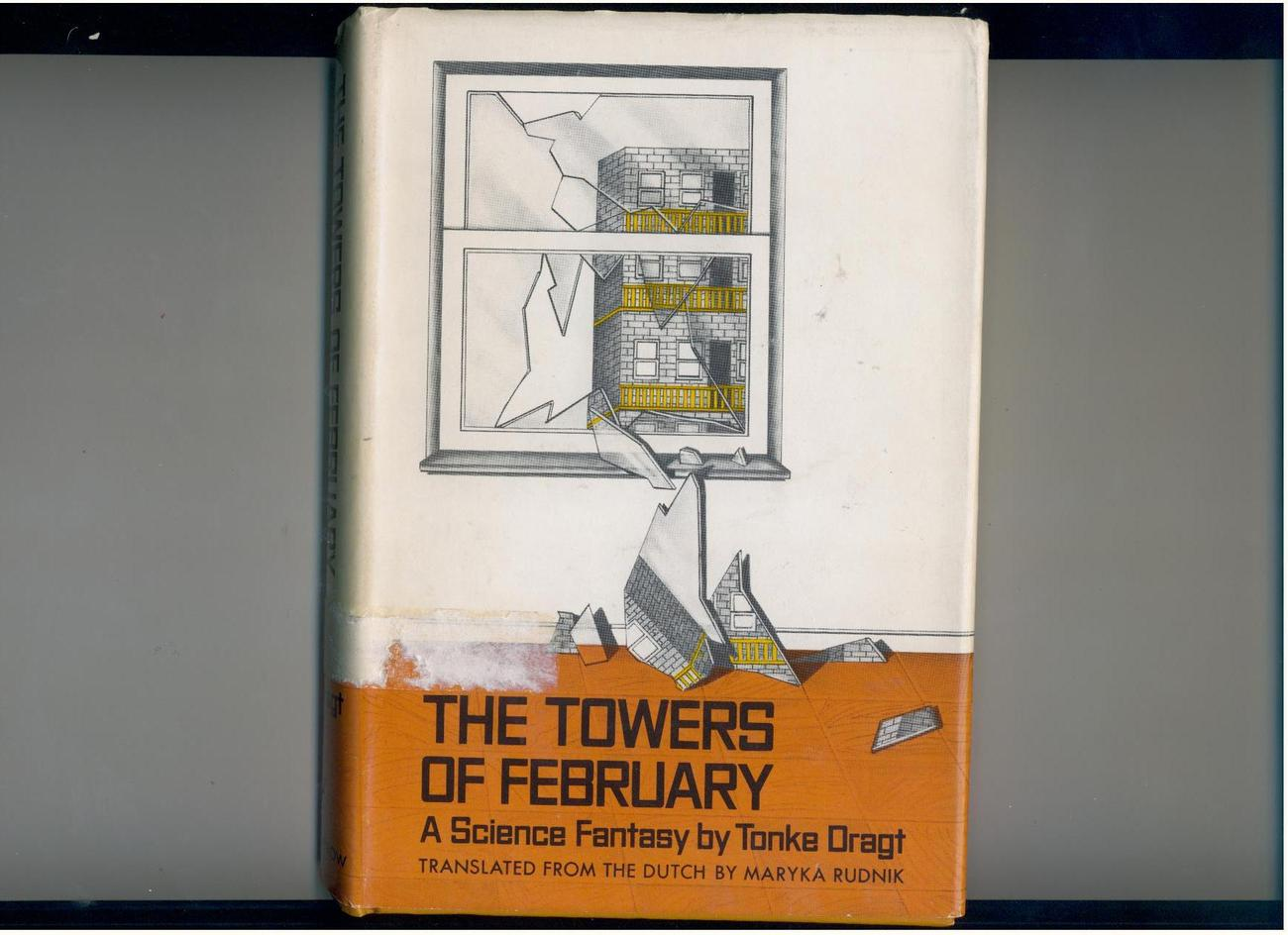 Tonke Dragt - TOWERS OF FEBRUARY - 1975 - U.S. 1st - scarce science fantasy