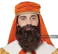 California Costumi Saggio Uomo Tre Kings Baffi Barba Costume Halloween 7... - $16.31 CAD
