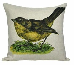 Crafted Creations Vintage Springtime Wren Bird Antique Style Decorative Accent T - $36.13