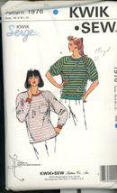 Kwik Sew 1976 Misses Tshirts Sz SX_S_M_L_XL   UNCUT - $5.50