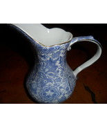 Godinger Antique Reflection Lovely Blue Floral Print Pitcher - $15.00